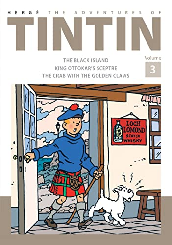 9781405282772: The Adventures of Tintin Volume 3