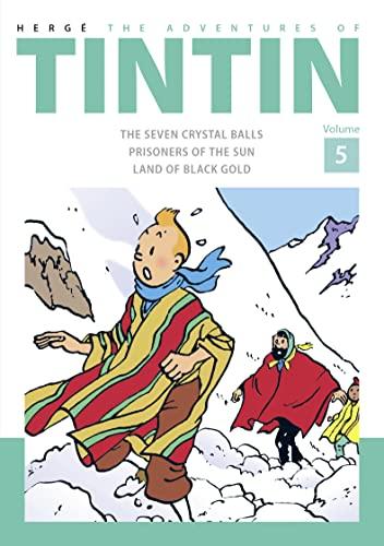 9781405282796: The Adventures of Tintin: Volume 5