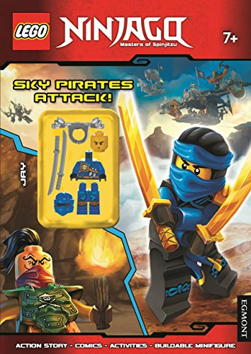 9781405283168: Lego Ninjago Sky Pirates Attack! (Activity Book with Minifigure)