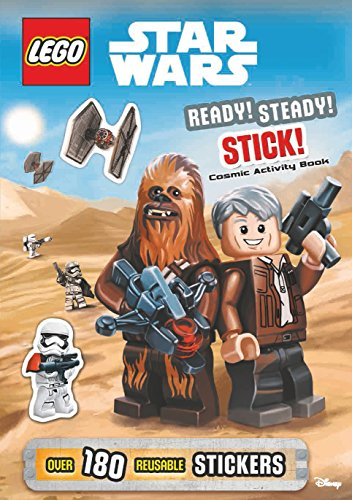 9781405283229: LEGO (R) Star Wars: Ready Steady Stick! Cosmic Activity Book