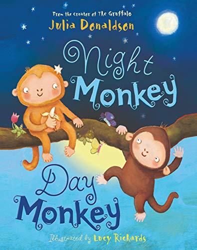 9781405283342: Night Monkey Day Monkey