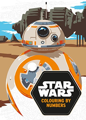 9781405284783: Star Wars: Colouring by Numbers (Star Wars Colouring Books)