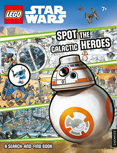 Lego Star Wars: Spot the Galactic Heroes a Search-And-Find Book