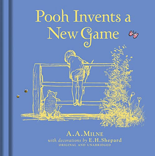 9781405286121: Winnie-the-Pooh: Pooh Invents a New Game