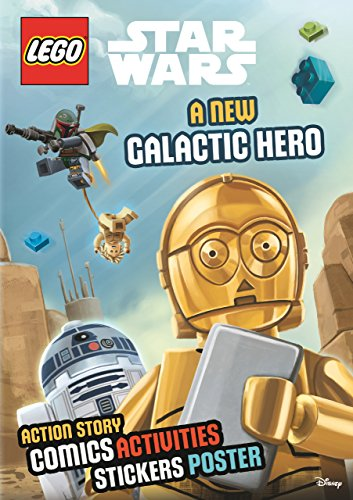 9781405286206: Lego (R) Star Wars: A New Galactic Hero (Sticker Poster Book)