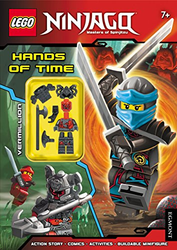 9781405286237: LEGO (R) Ninjago: Hands of Time (Activity Book with Minifigure)