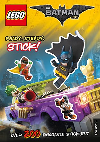 The Lego (r) Batman Movie: Ready, Steady, Stick! (paperback)