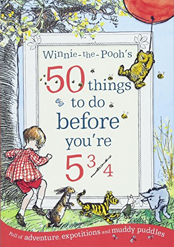 9781405289535: Winnie-the-Pooh's 50 things to do before you're 5 3/4