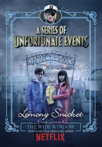 9781405290661: The Wide Window: Netflix Tie-In Edition (A Series of Unfortunate Events)