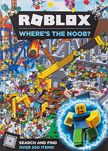9781405294638: Roblox Where's the Noob? Search and Find Book (Search & Find)
