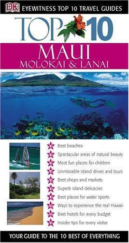 9781405302746: Maui, Molokai & Lanai (DK Eyewitness Top 10 Travel Guide)