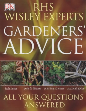 9781405303385: RHS Wisley Experts Gardeners' Advice (Royal Horticultural Society)