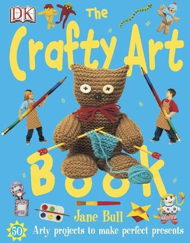 9781405303842: The Crafty Art Book