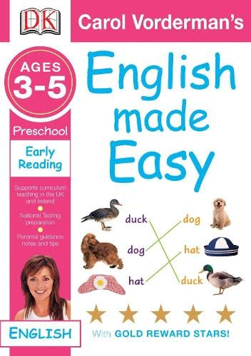 9781405309363: English Made Easy Early Reading: Preschool Ages 3-5 (Carol Vorderman's English Made Easy)