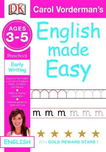 9781405309370: English Made Easy Early Writing: Preschool Ages 3-5 (Carol Vorderman's English Made Easy)