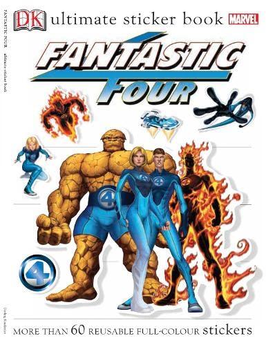 Fantastic Four Ultimate Sticker Book: Lisa Lanzarini