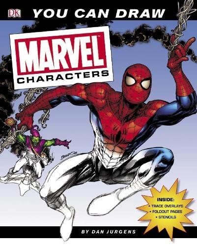 You Can Draw Marvel Characters: Jurgens, Dan