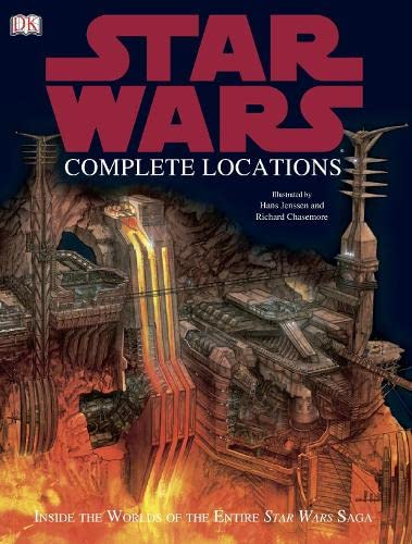 9781405310833: Star Wars Complete Locations: Inside the World of the Entire Star Wars Saga