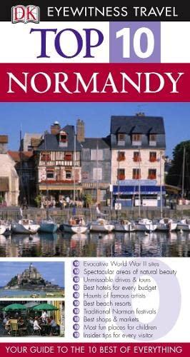 9781405312394: Normandy (DK Eyewitness Top 10 Travel Guide)