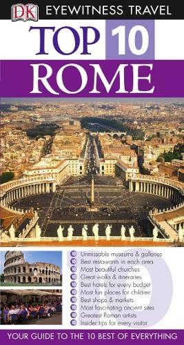 ROME (DK EYEWITNESS TOP 10 TRAVEL GUIDE): REID BRAMBLETT, JEFFREY KENNEDY'