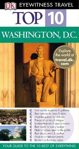 9781405312462: DK Eyewitness Top 10 Travel Guide: Washington