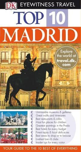 9781405316668: DK Eyewitness Top 10 Travel Guide: Madrid