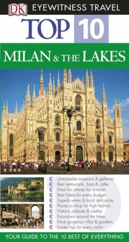 9781405316989: DK Eyewitness Top 10 Travel Guide: Milan & the Lakes