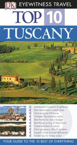 9781405316996: DK Eyewitness Top 10 Travel Guide: Tuscany [Idioma Inglés]