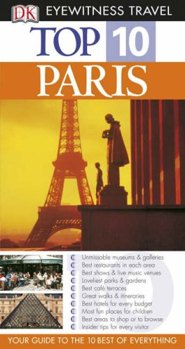 9781405317238: Paris (DK Eyewitness Top 10 Travel Guide)