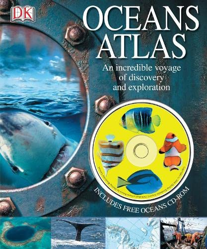 9781405318563: Oceans Atlas: with CD-ROM
