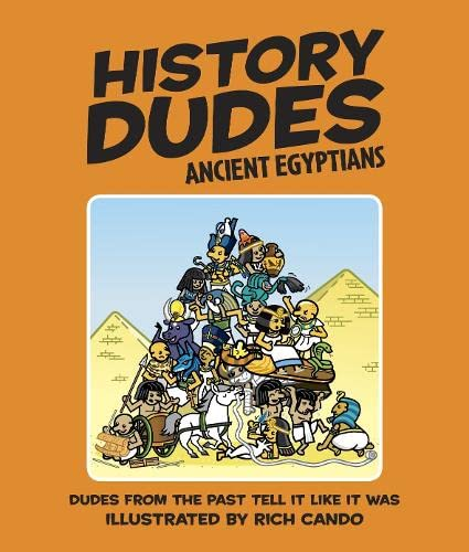 9781405318792: History Dudes Ancient Egyptians