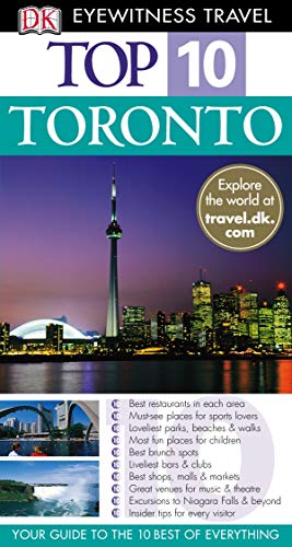 9781405319324: Toronto (DK Eyewitness Top 10 Travel Guide)