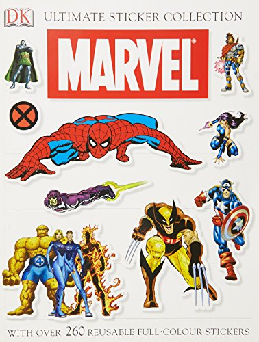 9781405319621: Marvel Ultimate Sticker Collection (Sticker Book)