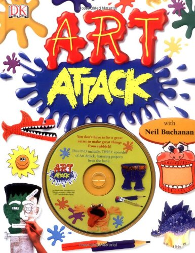 9781405319638: Art attack (+DVD)