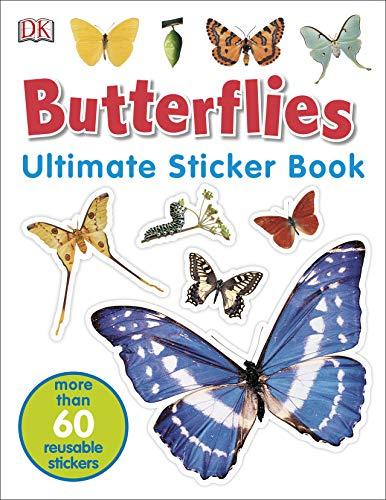 9781405319904: Butterflies Ultimate Sticker Book (Ultimate Stickers)
