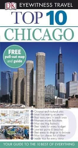 9781405321174: Chicago (DK Eyewitness Top 10 Travel Guide)
