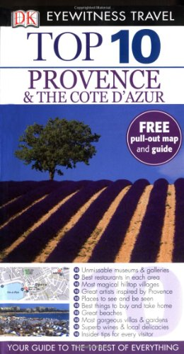 9781405321259: DK Eyewitness Top 10 Travel Guide: Provence & the Cote d'Azur [Idioma Inglés]