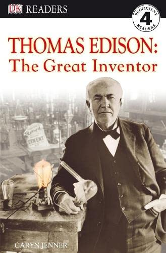 9781405321457: Thomas Edison - The Great Inventor (DK Readers Level 4)