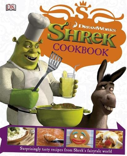 """Shrek"" Cookbook (1405321571) by GLENN DAKIN"