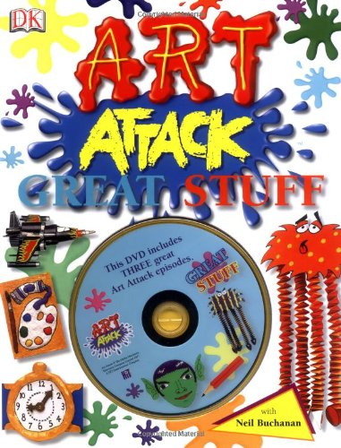 9781405325462: Art Attack Great Stuff: with DVD