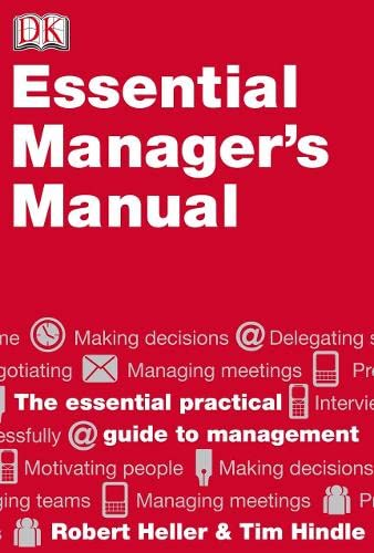 Essential Manager's Manual (9781405328388) by Robert Heller