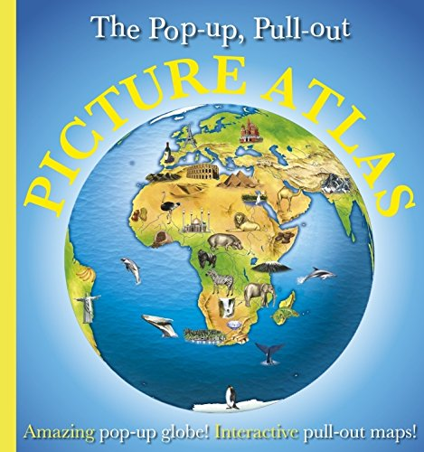 9781405328791: Pop-Up, Pull-Out, Picture Atlas