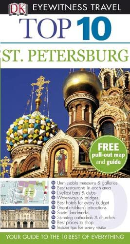 9781405329415: St Petersburg (DK Eyewitness Top 10 Travel Guide)