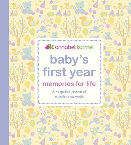 9781405331326: Baby's First Year Memories for Life: A keepsake journal of milestone moments (Baby Record Book)