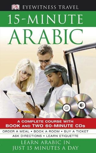 9781405332378: 15-minute Arabic CD Pack: Learn Arabic in Just 15 Minutes a Day