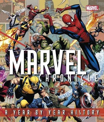 9781405332637: Marvel Chronicle: A Year by Year History