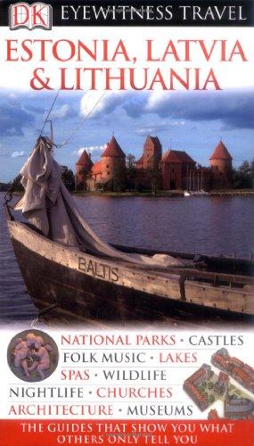 9781405333412: DK Eyewitness Travel Guide: Estonia, Latvia & Lithuania