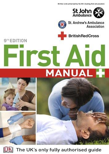 9781405335379: First Aid Manual 9th Edition: The Step by Step Guide for Everyone (British Red Cross)