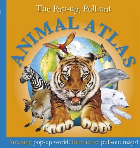 9781405336635: Pop-up, Pull-out, Animal Atlas