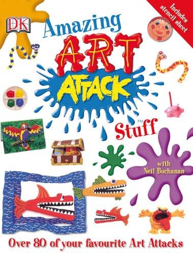 "9781405337854: Amazing ""Art Attack"" Stuff"